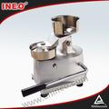 Manual máquina de hambúrguer patty/hambúrguer patty que faz a máquina/hambúrguer patty pressador