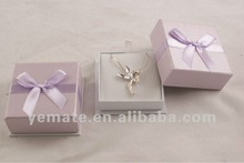beautiful light purple jewelry box inserts, portable jewelry display cases for necklace