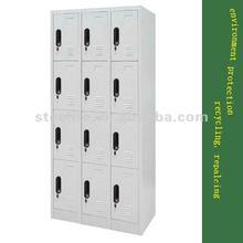 Metal Furniture Steel Locker 12 Compartment Locker