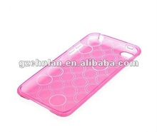 High quality Circle TPU Gel Case Cover for Iphone5