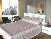 hot sell printed patchwork bedspread
