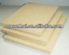 PLAIN MDF/raw mdf/Medium density fiberboard 2mm 2.5mm 3mm E1 glue