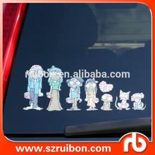 Car window sticker waterproof car decal