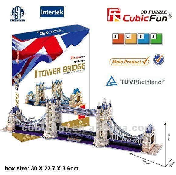 _UK_Tower_Bridge_3d_puzzle_kinds Meningkatkan kecerdasan anak dengan Puzzle  wallpaper