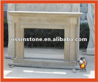 Carved Marble & Granite Fireplace Surrounds or Mantels