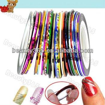 Cheap 30Pcs nail art striping tapes Wholesale