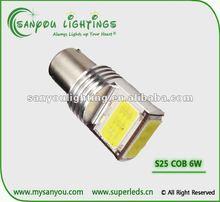 S25 1156/1157 COB led 6W high power 12-28V DC led turn light