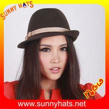 2014 trendy wholesale felt hat