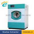 la tienda de ropa 25kg comercial lavado de la máquina