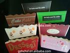 PE coated paper cake box
