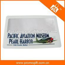 Popular plastic magnifier card 2014