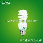flourescent spiral energy saving bulb 9-18W