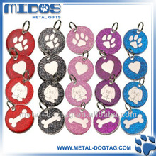 fashion jewelry Metal bone heart dog cat tag
