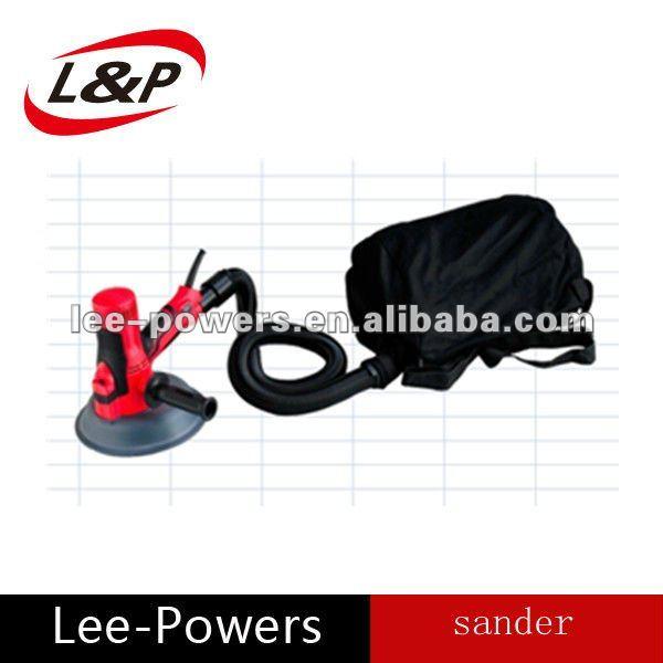 Sin polvo de mano eléctrico drywall sander