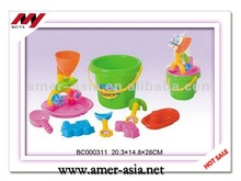 2014 Kids sand Beach Toy 9pcs, sand beach toy set mini sand beach toys