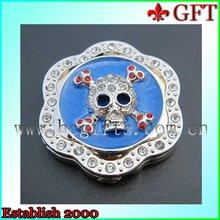 Skeleton Head Enamal Bag Hanger GFT-BH1204