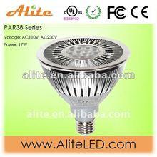 17W yellow par38 led bulb