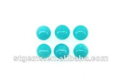 2012 Hot sale wholesale price round bead amazonite 10mm gemstone cheap cabochons