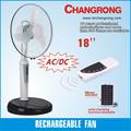 """Controleremoto 18"""" stand ventilador solar recarregável"""