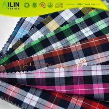 100 cotton fabric yarn dyed fabric