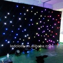 Charming led star curtain/dj led light star curtains