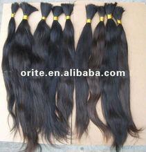 Hot!wholesale virgin hair extensions/100%Virgin Brazilian human hair extension