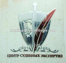 fashional 3D logo plate sticker