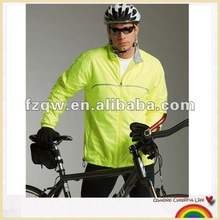 Racer packable bike rain jacket