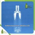 260ml color claro botella de plástico pet