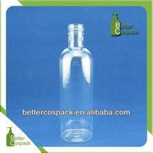260ml clear color plastic PET bottle