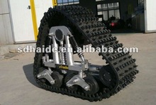 rubber tracked chassis,vehicle rubber track kit,rubber track system