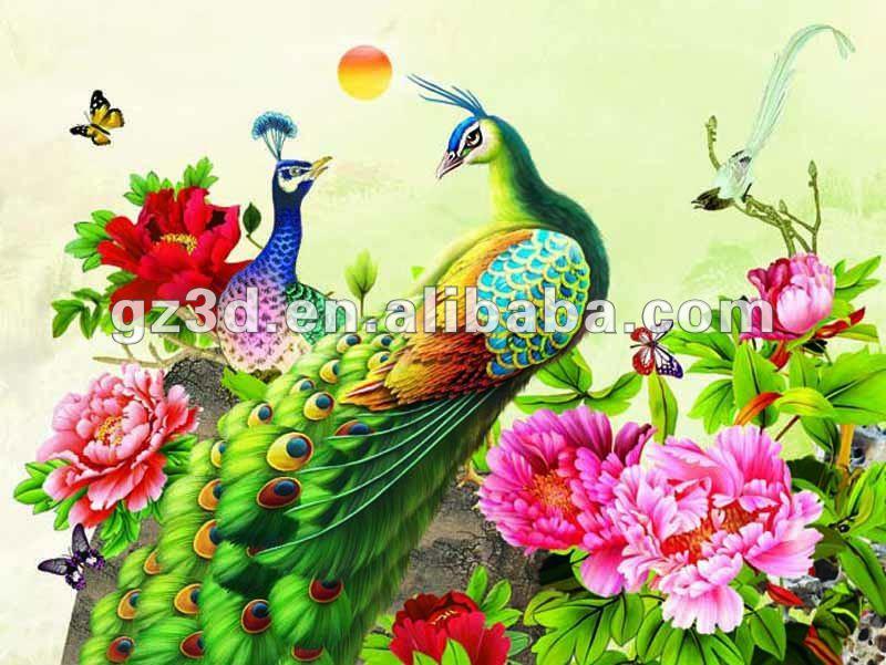 صور الطاوس فلاشية  Beautiful_3d_pictures_of_birds_peacock_and