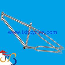 TSB-ZJS0901 customized titanium beach cruiser bicycle frame