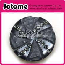 vintage resin button for women coat with high quality