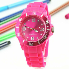 Hot Sales Silicone Watch Jelly Watch No Logos