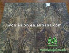 Fancy !! Natural veneer , American Walnut Burl Veneer for Veneered Plywood &MDF & Wall Panel