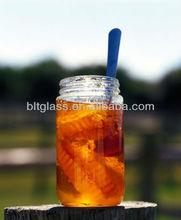 350ml tall cylindrical jam/honey/cookies/storage glass jar wholesale