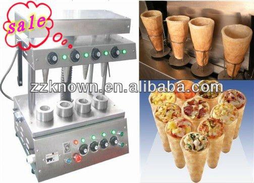 melhor vender pizza cone máquina de molde