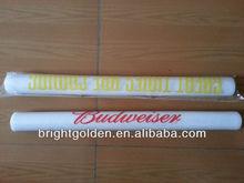 Customer logo prined led flashing foam tube