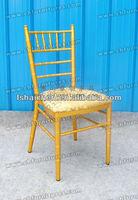 Modern banquet aluminum bamboo wedding chair YC-A18