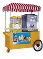 Vehículo de aperitivos de combinación catería movíl, carreta movil de helado