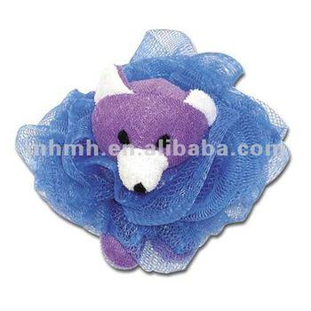 Nylon mesh sponge,Animal Bath Ball, Bath Toy