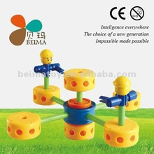 Thinkertoy hot toys 2012 kids toys new items 70pcs building blocks toy for 3+ kids