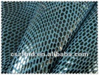 2014 shoe material,PU coated snake fleece fabric for shoe,bag ,cover