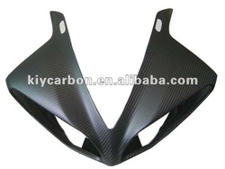 Carbon motorcycle upper fairing for Yamaha R1