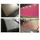 flower pattern metal sheets / wood grain decorative laminate sheet