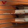 prateleiras de madeira para a montagem da loja