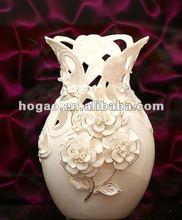 white rose modern vase for decoration