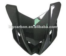 New carbon fiber upper fairing for Aprilia Tuono V4