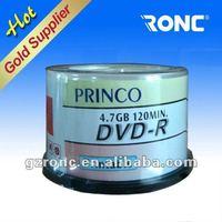 Printable PRINCO DVD/dvdr/disk/dvd-r/dvdr up to 16x